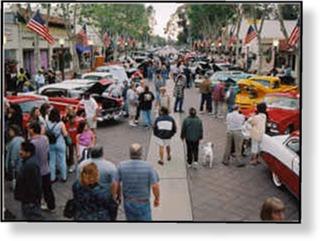 Main Street Garden Grove - Market street car show